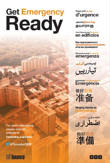 get emergency ready poster