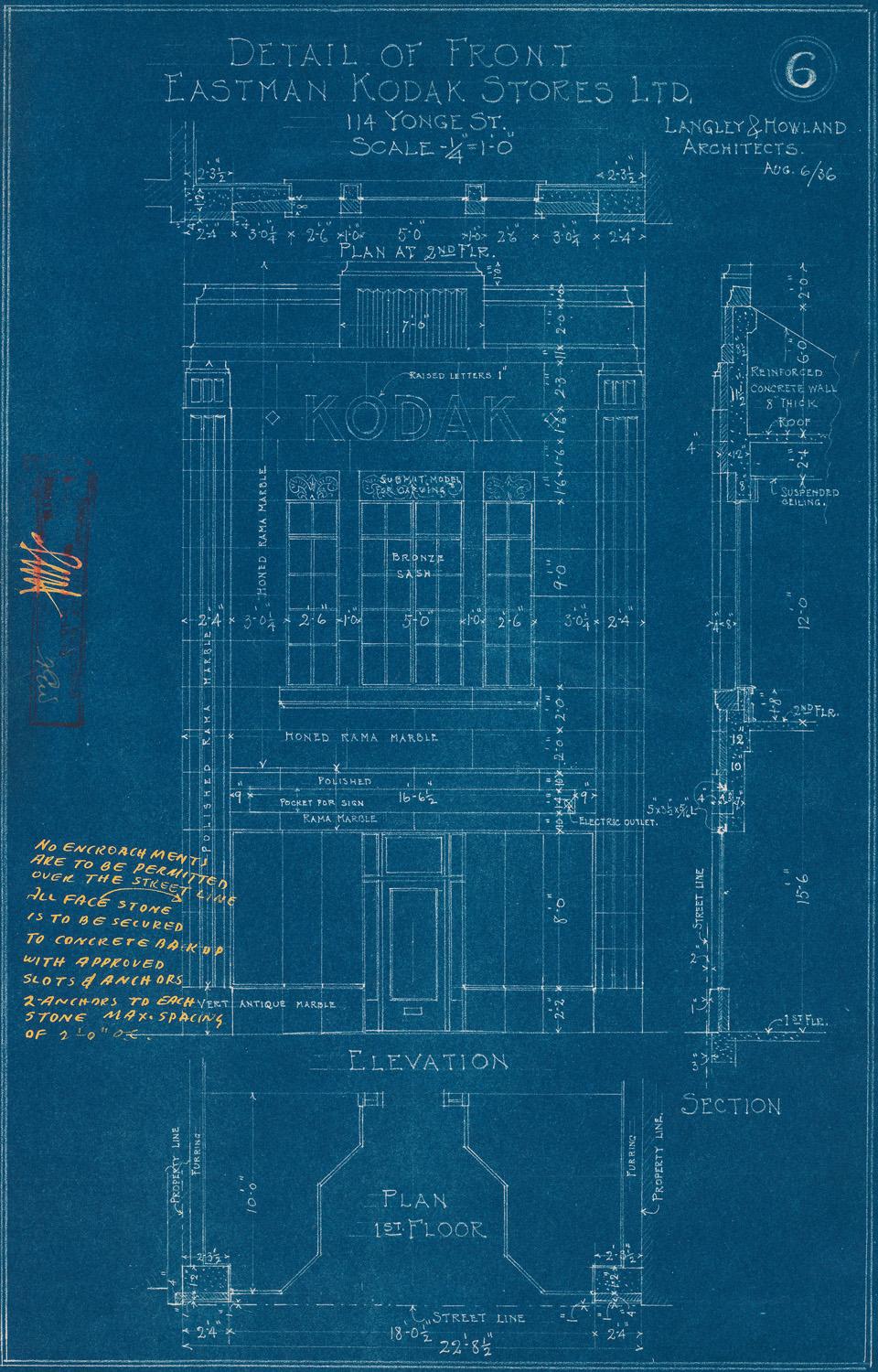 A work in progress municipal regulation city of toronto for Reading framing blueprints