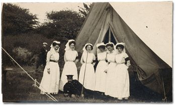 The Beginnings of Army Nursing - Niagara Camp ca. 1914