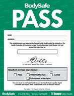 Green BodySafe - Pass
