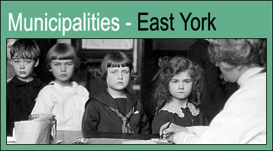 Municipalities - East York.