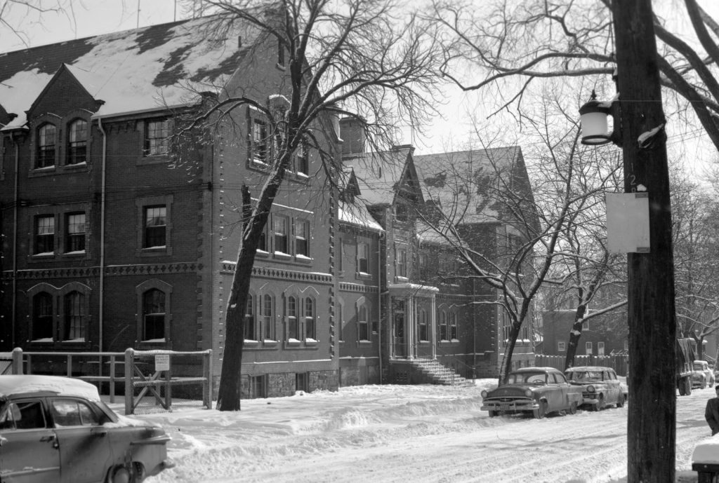 Boys' Home, east side of George Street 1954 (before demolition).