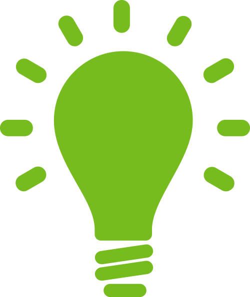 Light bulb icon representing innovation