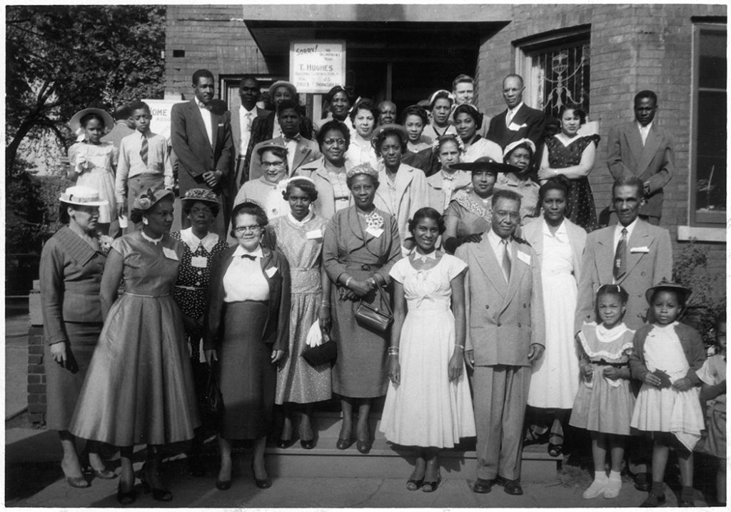 Negro Citizenship association reception, 1954