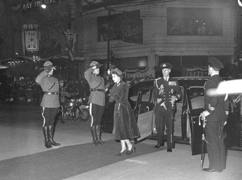 Princess Elizabeth at City Hall