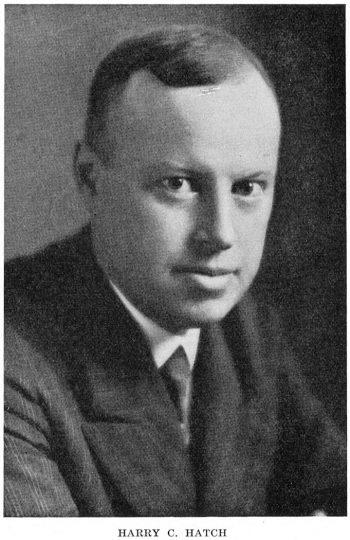 Portrait of Harry H. Patch