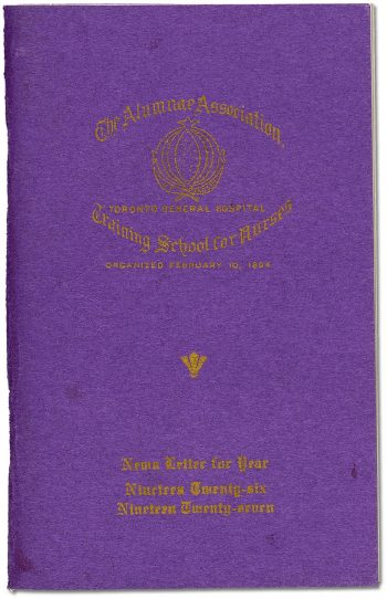Newsletter for Year 1926-1927, or the Purple Book