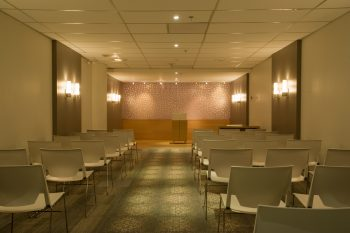 North York Civic Centre wedding chamber rear view