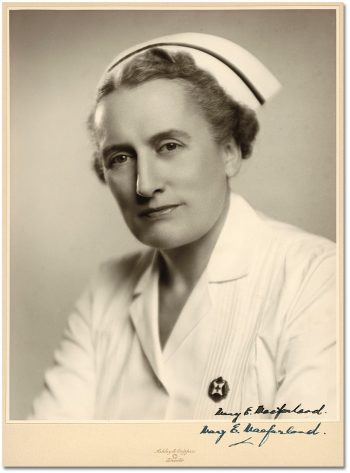 Mary E. Macfarland Superintendent of Nursing, 1942-1960 1953