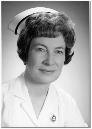 M. Jean Dodds 1968 Superintendent of Nursing, 1960-1969