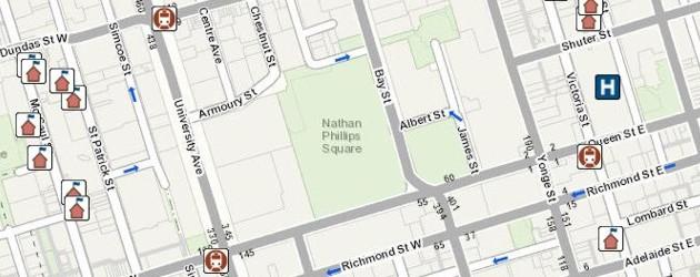 Toronto Maps Basemap