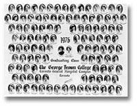 Graduating class of 1976