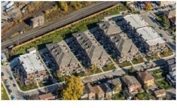 Aerial photo of 120 Twenty Fourth Street