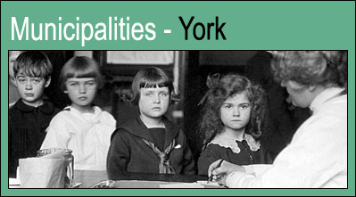 Municipalities - York.