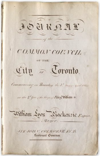 Journals of the Common Council 1834