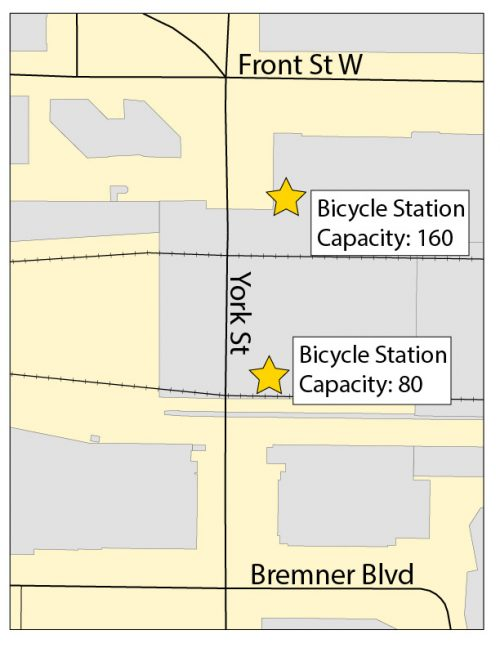 Bicycle Parking Locations Union Station
