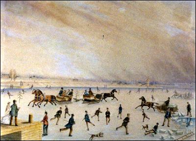 Taylor's Wharf J.G. Howard 1835