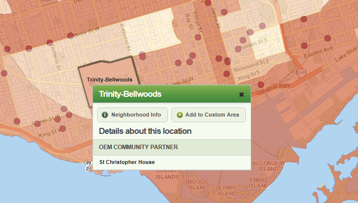 "Wellbeing Index with ""Details about this location"" feature visible"