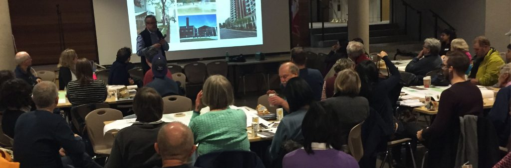 Photograph from Midtown in Focus community meeting