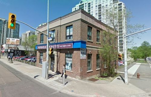 5151 Yonge Street - view of south west corner