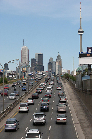 Image of the Gardiner Expressway