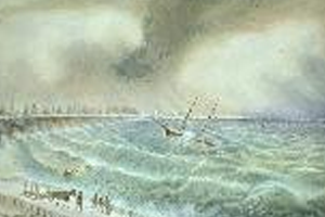 Thomas Tinning Rescuing the Crew of the Pacific