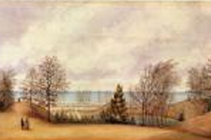 A View of the Lake in Front of Colborne Lodge (1870)