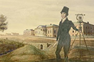 Portrait of John Howard Surveying the Harbour, 1835