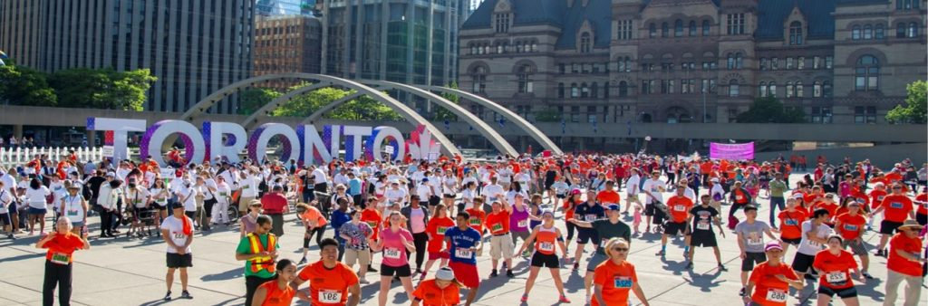 Participants of 5k run
