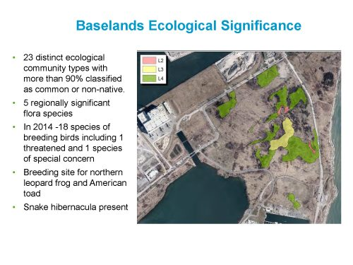 Baselands Ecological Significance