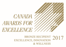 Graphic for Canada Awards for Excellence, Bronze Recipient Excellent, Innovation & Wellness 2017