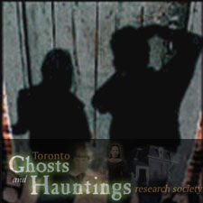 Image of a flyer promoting the Toronto Ghost Tour