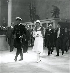 Prince of Wales opening Union Station in 1927.