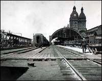 Track-level view of the 1872 version of Union Station
