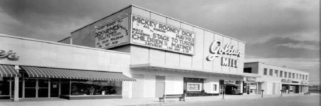 Golden Mile Marquee, 1954