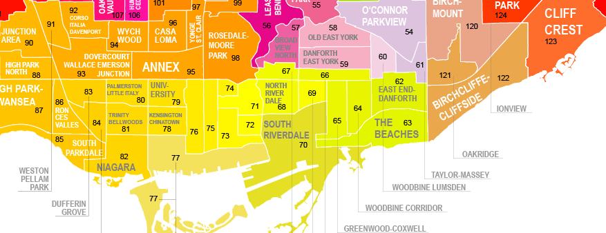 City Of Toronto Map Wellbeing Toronto – City of Toronto City Of Toronto Map