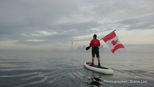 Happy Canada Day, Toronto by Diana Lee
