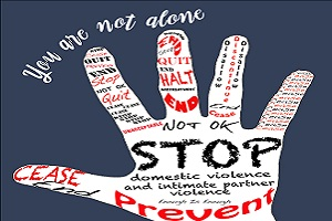 Domestic Violence, You Are Not Alone Logo