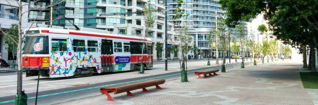 Image of Queens Quay at Ann Tindal Park