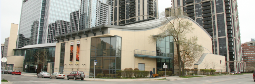 Side view of Toronto Centre for Performing Arts