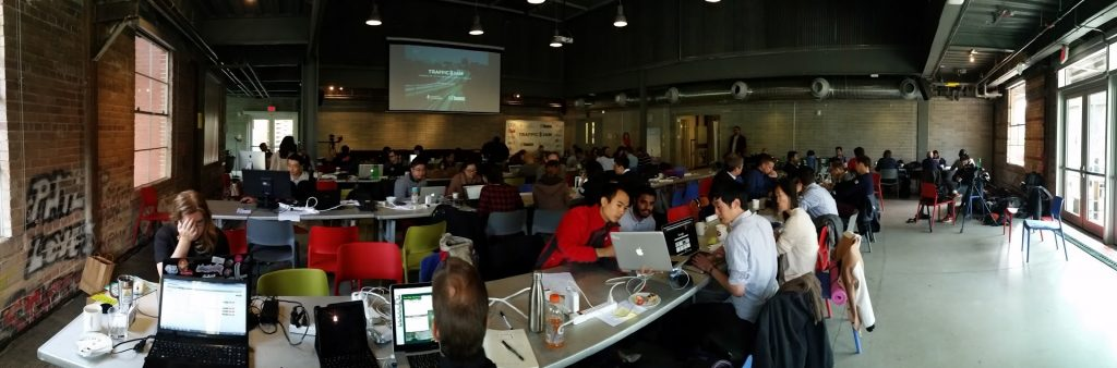 Image of the 2015 Hack-a-thone participants