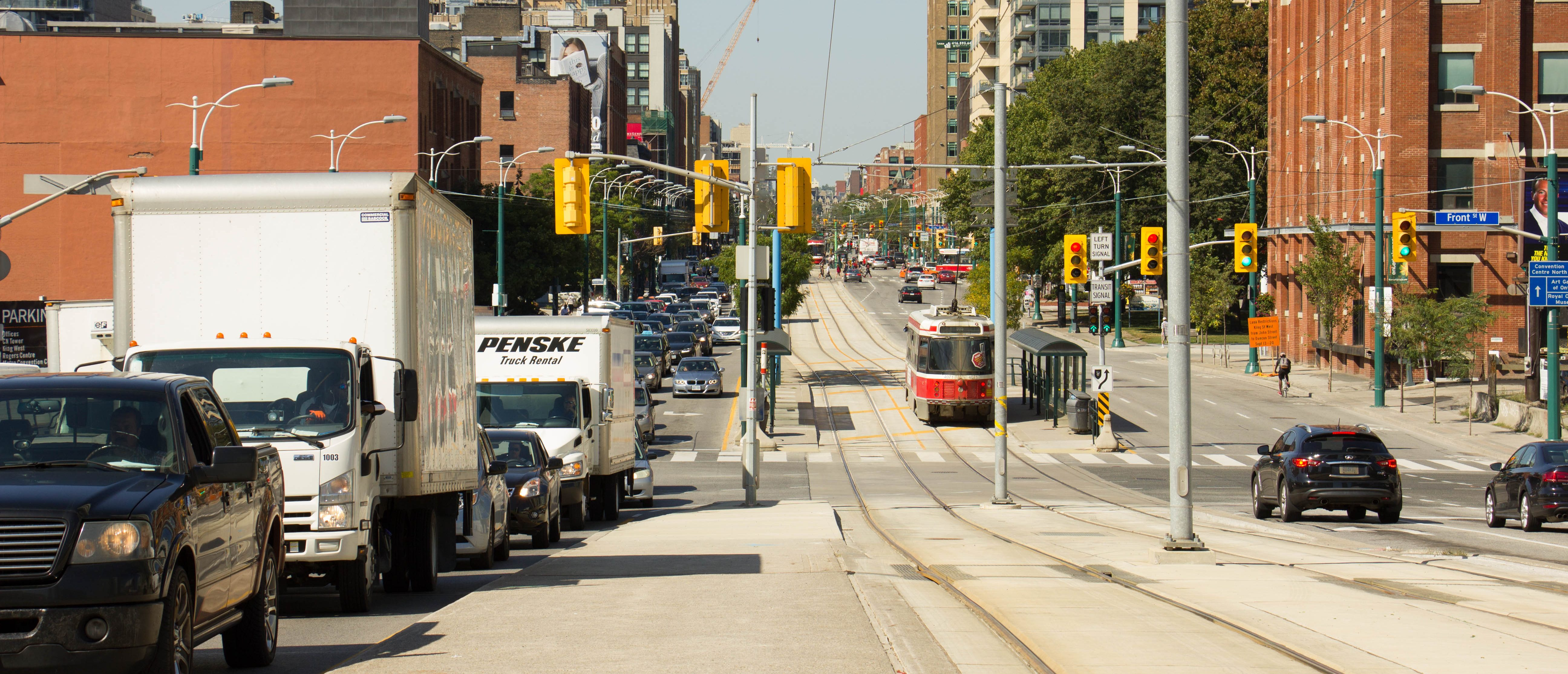 Road Management Services : Road classification system city of toronto