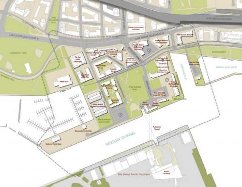 Map of Bathurst Quay Neighbourhood Plan Study Area