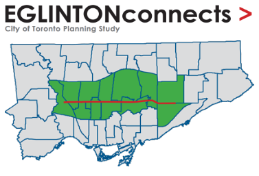 Eglinton Connects Planning Study Area