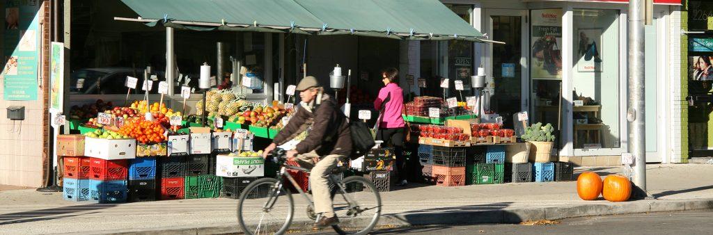 Image of a Sidewalk Sale Bloor West Village