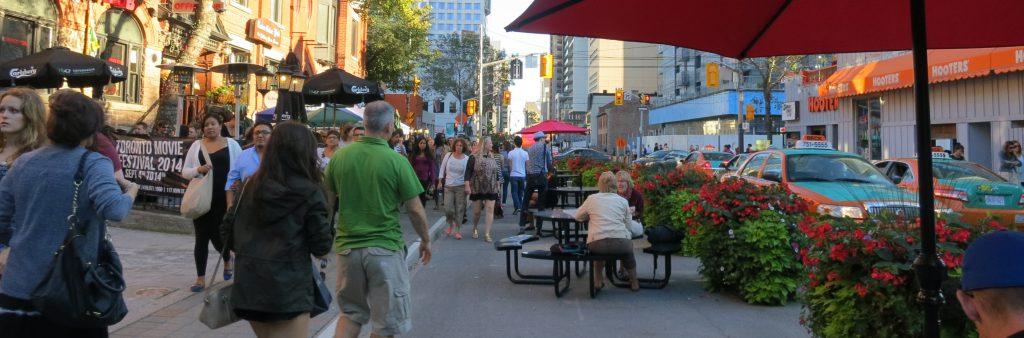 Image of the John Street Pilot: Sidewalk Extension