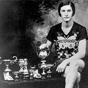 Photo of Bobbie Rosenfeld, 2016 photo of Toronto Sports Hall of Honour