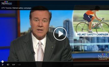 Video screen shot linking to CTV News video on helmet safety