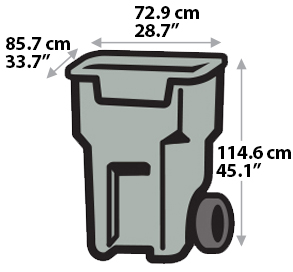 Garbage Bin - Extra Large