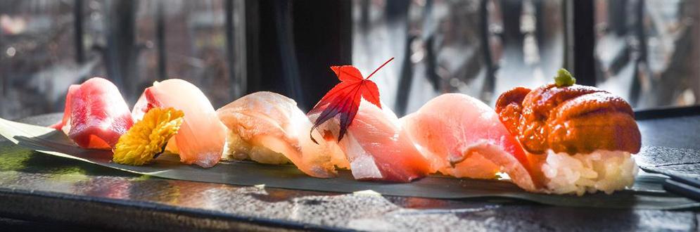 sushi from Yuzonohana